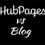 Hubpages vs Blog