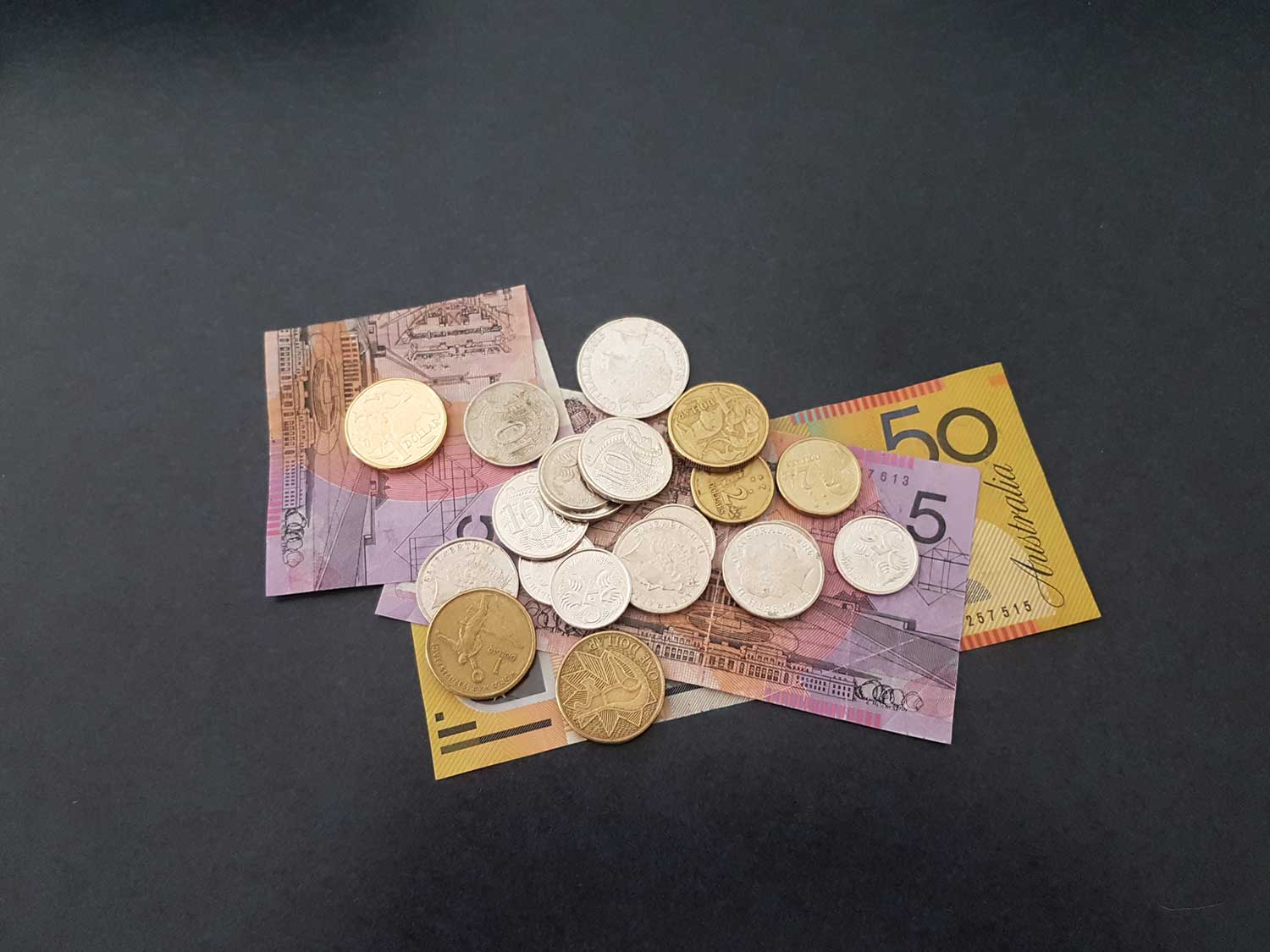 photo of money notes and coin